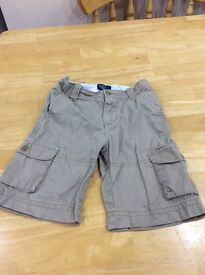 Polo shorts, beige only worn twice size 6, £10