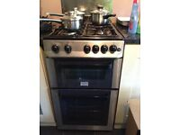 zanussi gas cooker 500mm