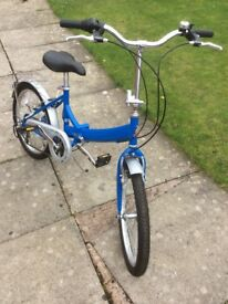 Raleigh folding bike very good condition £75ono