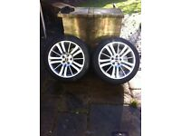 "20"" genuine 2011 rangerover sport alloy wheels and new tyres"