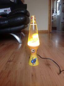 Beatles lava lamp
