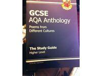 Excellent condition GCSE Anthology (poems) textbooks