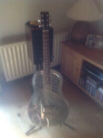 Tri cone resonator guitar for sale