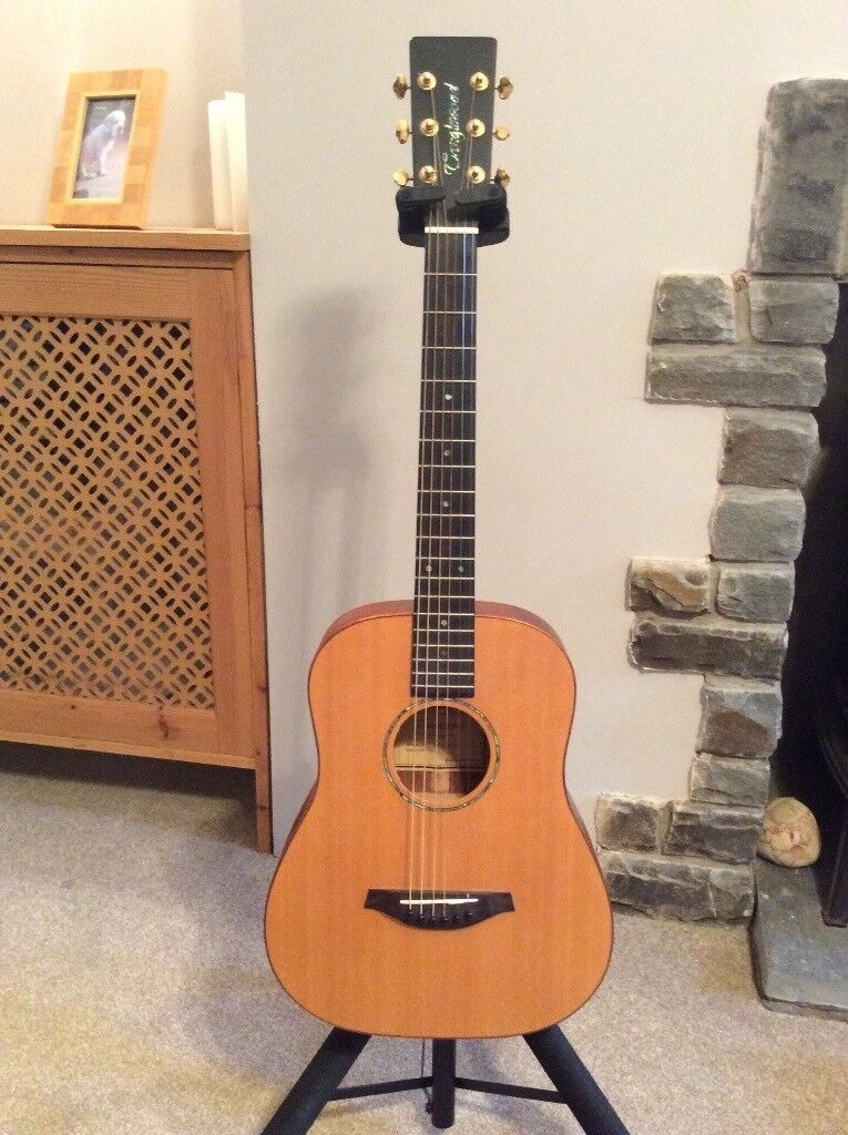tanglewood baby travel guitar with case in neath neath port talbot gumtree. Black Bedroom Furniture Sets. Home Design Ideas