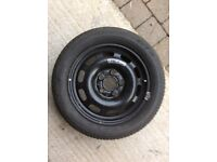Mercedes A Class Spare Wheel and Tyre