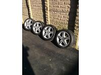 Honda Civic s type alloy wheels with tyres