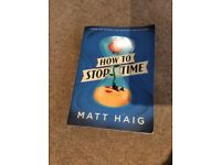 How to Stop Time- Matt Haig, Paperback, Good used condition-£4, Hove