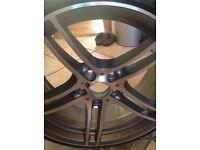 Genuine 313 BMW 19 inch alloy wheel and tyre