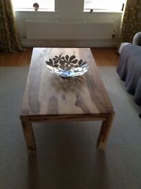 Coffee Table - solid wood 1200 x 700 x 450