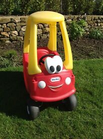 Little Tikes Red Cozy Coupe Toddlers Garden Ride On Toy