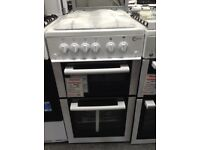 Flavel 50cm white gas cooker. £230 new/graded 12 month gtee