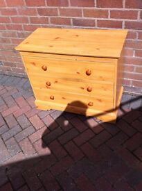 Pine Wardrobes and Drawers