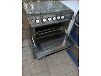 black gas hot point gas cooker 60cm...Mint free delivery