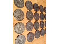 Antiques coin collection