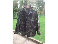Small mans Combat Jacket and Trousers