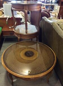 Round Glass Tables