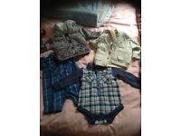 Newborn & 0-3 months baby boy clothes