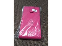 BRAND NEW UNUSED Hot Pink Leather Effect Flip-open Mobile Phone Case (Fits Huawei Y530)