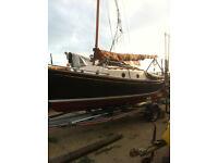 'NORFOLK GYPSY' Yacht. Boat No. 33 Fully refurbished 2014 cost £ 30, 000 . 00