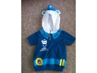 Octonauts Dress Up Captain Barnacles size 4 years