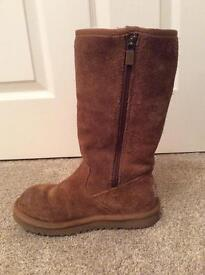 Tall ugg boots size 1