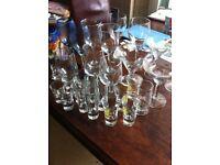 34 Assorted Glasses