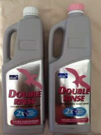 4 liters of Elsan double pink loo flush fluid