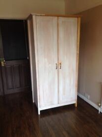 Wood wardrobe, great up cycle project!