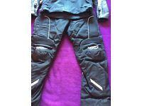 Motorcycle trousers, men's size 38