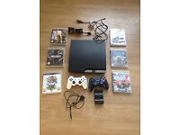 PS3 Console Plus 6 Games