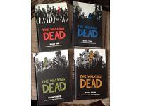 The walking dead books 1 to 4 hardbacks