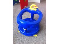 Baby floor seat and bouncer