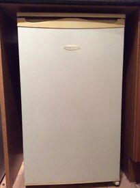 Under counter fridge with freezer box