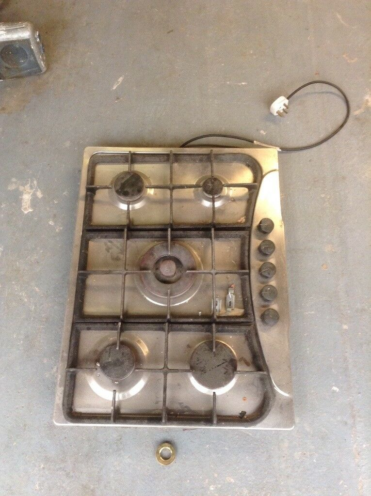 5 Ring stainless steel Gas Hob