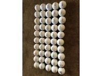 GOLF BALLS MAINLY TITLEIST 50 IN TOTAL