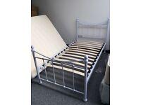 3' metal bedframe
