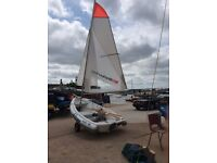 Walker Bay 10 ft dinghy. Model: RID 310 with high performance sail kit