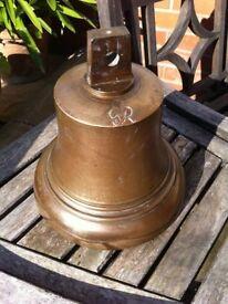 Antique Brass Fire bell,