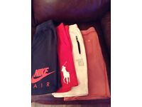 Boys Shorts bundle, 8 pairs, aged between 10 to 13