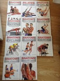 NEW fitness anatomy books RRP £140