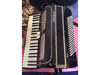 120 bass piano accordion italian concertino