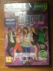 Brand new unopened Let's Dance Kinect