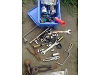 Old tools etc