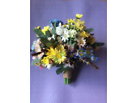 Artificial flower bundle
