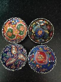 Small Turkish bowls