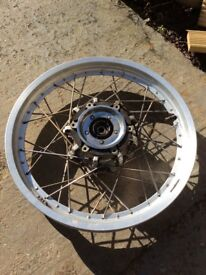 Virago 750 wire spoked wheels