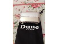 Ladies Dune Silver Handbag