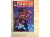 A Dark Horse Comics Predator Cold War #4 of 4 (1991)