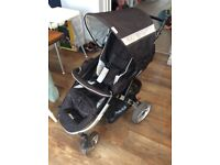 Hauck Apollo All in One Travel System - Pram, Car Seat and Pushchair. Ages 0-3years