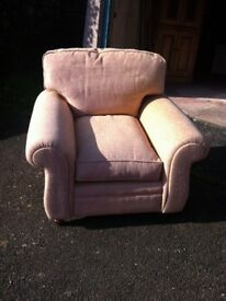 Laura Ashley armchair barely used but upholstery has faded